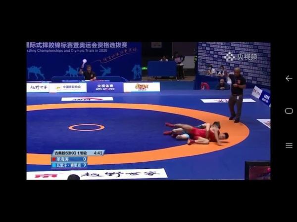 Қандасымыз Уәлихан Серікұлы Қытай чемпионатында алтыннан алқа тақты