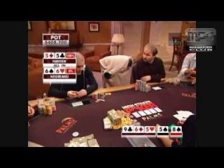 Gus Hansen vs Daniel Negreanu - Best Hand from High Stakes Poker
