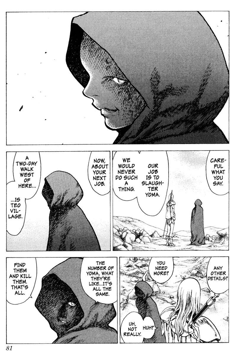 Claymore, Chapter 12, image #10