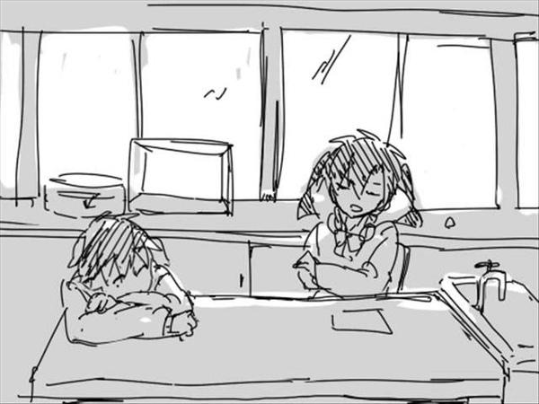 手描きカゲプロ 桜 見 丘
