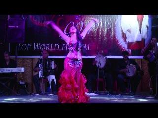 Ana Claudia Borges - Egypt- Winner 3. PLACE Ahlan wa sahlan Festival.