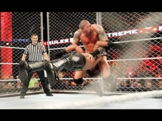 (WWE Mania) Extreme Rules 2015 Seth Rollins(с) vs Randy Orton (WWE World Heavyweight  Championship)