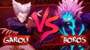 Garou VS Boros in One Punch Man: A Hero Nobody Knows (a game, not the anime)